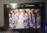 Maid of Honour Photo Frame