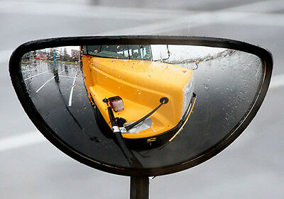 Heated Convex Wide Cross View Blind Spot Mirror School Bus Truck Semi -