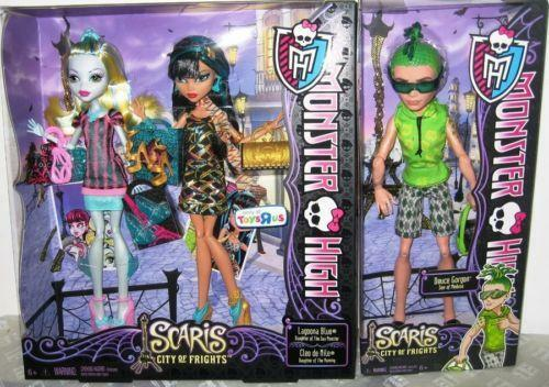 Monster high cleo de nile deuce ebay - Monster high deuce ...