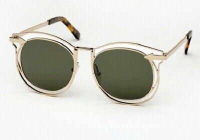 Karen Walker Simone Sunglasses - Gold Frame + Tortoise