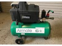 SIP 24lt oil less 8 bar air compressor ****** CHEAPEST ON GUMTREE LOCALLY******