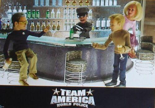 TEAM AMERICA - World Police - Lobby Cards Set - Trey Parker, Matt Stone