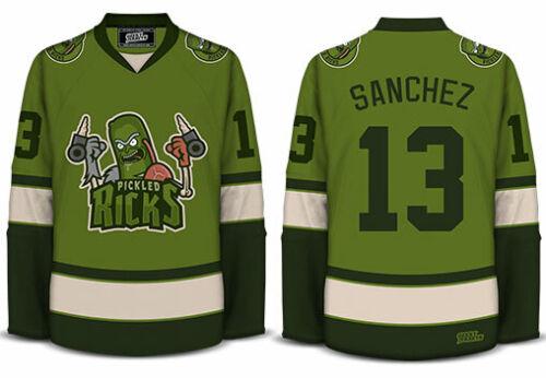 Pickled Ricks - Geeky Jerseys - Hockey Jersey - 3XL