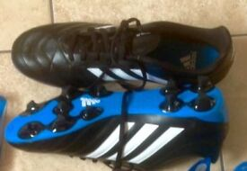 Brand New Adidas football boots, size: adults 11 1/2, £10