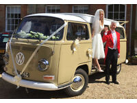 VW camper wedding hire, wedding car hire Hampshire, Hampshire wedding car hire, Hampshire VW camper