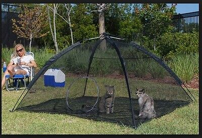 Pet Tent for Indoor Pets to Enjoy Outdoors on Patio, Deck, Yard, Balcony
