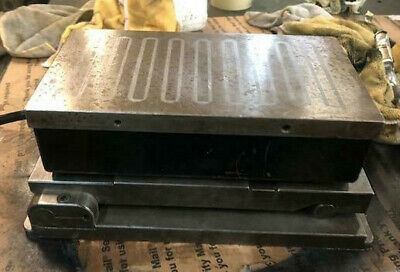 Magnetic Chuck Sine Plate. 6 X 11 Usa Compound Magna