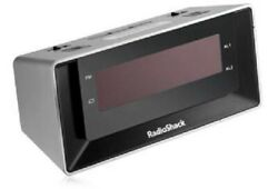 Radio Shack Dual-Alarm Clock with USB Charging & Night-Light 6300695