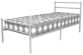 Single bed - Layla Metal Bed Frame - £29 ( No Mattress )
