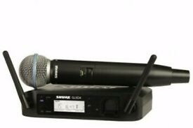 Shure Beta 58 Glx microphone & receiver