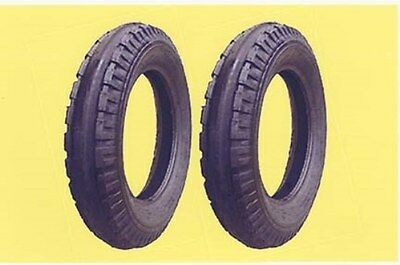 Two 4.00-12 4.00x12 400x12 Firestone Original Front Tractor Tires Tubes