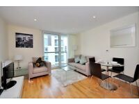 STUNNING 1 BEDROOM FLAT WITH GYM AND CONCIERGE SERVICE IN DENISON HOUSE, LANTERNS WAY, LONDON