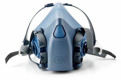 3m Medium 7502 Half Facepiece Reusable Respirator New