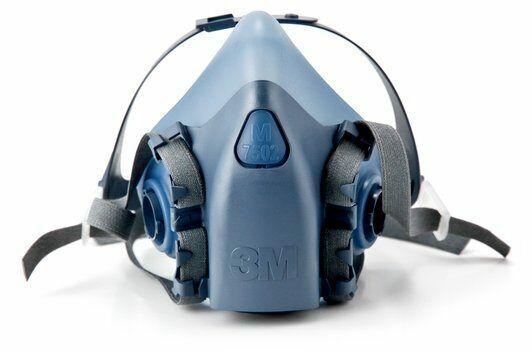 3M™ MEDIUM 7502 Half Facepiece Reusable Respirator NEW!