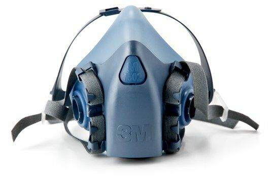 3M 7502 CoolFlow Reusable HalfFacepiece Respirator Respiratory Protection MEDIUM Business & Industrial