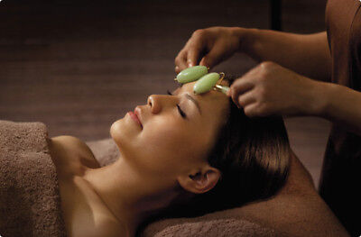 1x Traditional Chinese Anti Aging Beauty Tool Jade Face And Body Massage Roller/
