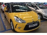 CITROEN DS3 1.2 VTi DSign Plus (yellow) 2014