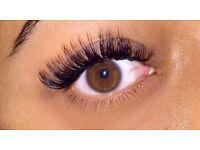Individual 1:1 eyelash extensions