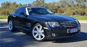 2005 Chrysler Crossfire ZH Black 5 Speed Sequential Auto Coupe Cannington Canning Area Preview