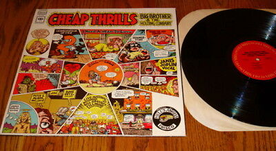 Big Brother   The Holding Company Cheap Thrills Lp