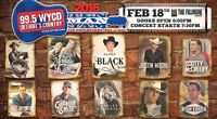 10 Man Jam (Feb 18th)--COUNTRY CONCERT