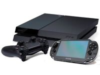 Playstation 4 and PS Vita package with games etc etc