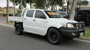 2011 Toyota Hilux KUN26R MY12 SR (4x4) White 4 Speed Automatic Dual Cab Pickup Hillcrest Port Adelaide Area Preview