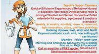 Weekly, bi weekly and monthly cleaning available
