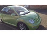 vw beetle excellent condition, low mileage