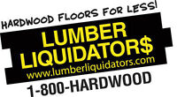 Credit for brand new flooring - any material you want 40% off