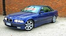 1997 BMW 328I E36 Executive Blue 5 Speed Automatic Convertible Upper Ferntree Gully Knox Area Preview
