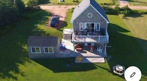 Beach Themed Ocean View Cottage Souris summer weeks!
