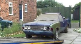 Ford Cortina 'Pick-Up'. Lots of work done, garaged for last 20 years.