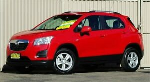 2016 Holden Trax TJ MY16 LS Red 6 Speed Automatic Wagon Lismore Lismore Area Preview