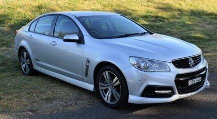 2013 Holden Commodore VF MY14 SS Silver 6 Speed Sports Automatic Sedan