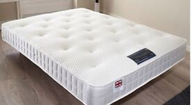 🥇🥇FREE SAMEDAY LOCAL DELIVERY 7 DAYS A WEEK 4ft6 Double Luxury Mattress £149 -Bed