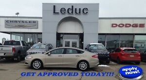 2015 Ford Fusion SE with EcoBoost, Heated Seats and Bluetooth