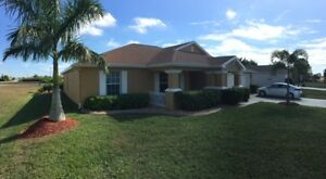 SW FLORIDA POOL HOME rental Escape in the Cape BEACH, RELAX Golf