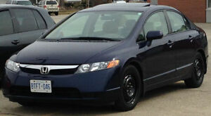 2006 Civic low kms, well maintained, indoor parking