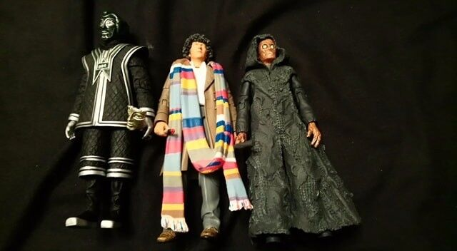 Classic Dr Who Figures