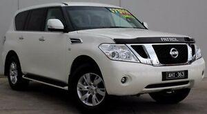 2016 Nissan Patrol Y62 MY15 TI White 7 Speed Sports Automatic Wagon Berwick Casey Area Preview