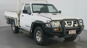 2006 Nissan Patrol GU DX (4x4) White 5 Speed Manual 4x4 Cab Chassis Kingsgrove Canterbury Area Preview