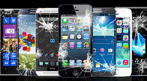 Réparation décran de cellulaire iPhone Samsung LG Etc.Terrebonne