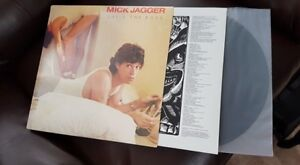 MICK JAGGER SHES THE BOSS ORIG PRESS VINYL MINTY !