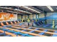 Trampoline group Session for Children with Autism