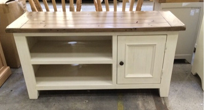 Cotswold Company Off White TV Cabinet | in Bradford, West ...