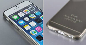 NEW THIN CLEAR SILICONE SOFT COVER CASE FOR IPHONE 6 SNAP ON Regina Regina Area image 4
