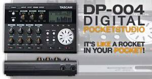 Recorder Tascam DP-004 Four Track & SD card with adaptor Greenwich Lane Cove Area Preview