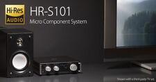 TEAC HR-S101-BB High Resolution Amplifier & 2 Rear Bass-reflex type Speakers