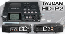 TASCAM HD-P2 Portable High-Definition Stereo Audio Recorder NEW!!
